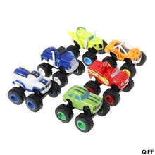 6Pcs Mainan untuk Mobil
