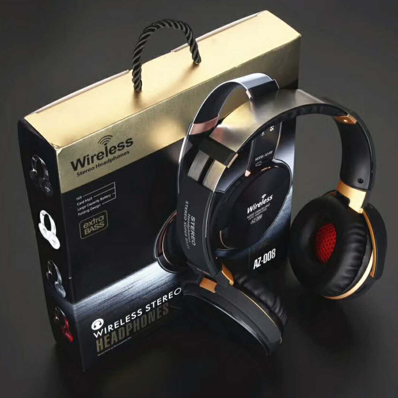 Wired and Wireless Bluetooth Gaming Headset Headphone HIfi Stereo Earphones TF Card MP3 FM Function and Microphone ks 509 mp3 player stereo headset headphones w tf card slot fm black