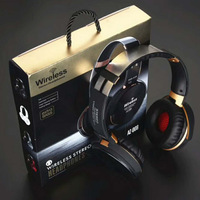 Wired and Wireless Bluetooth Gaming Headset Headphone HIfi Stereo Earphones TF Card MP3 FM Function and Microphone