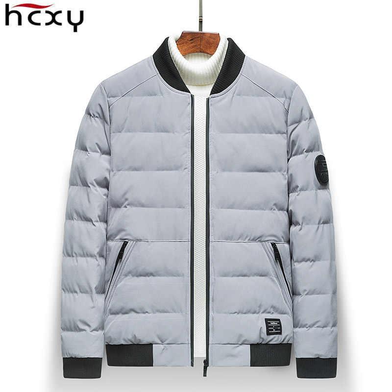 HCXY 2018 брендовая зимняя мужская куртка Костюмы Повседневное мужские куртки и пальто Плотные пуховики Для мужчин пиджаки 4XL пиджак мужской