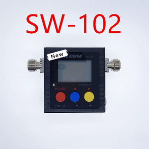 Upgrade version Surecom SW-102 125-525Mhz VHF/UHF Antenna Power & SWR Meter+SMA-M& SMA-F connector not for DMR system(China)