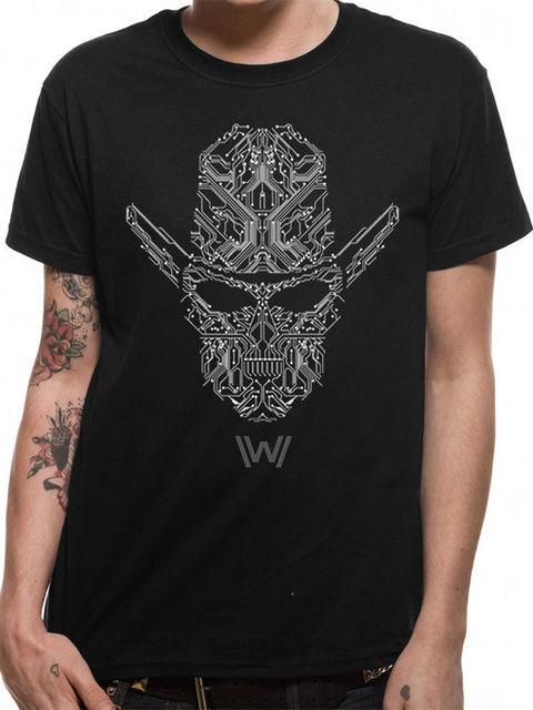d5769516515d Westworld Circuit Man Official Delos Inc Android Hosts Black Mens T-shirt  Cool Casual pride