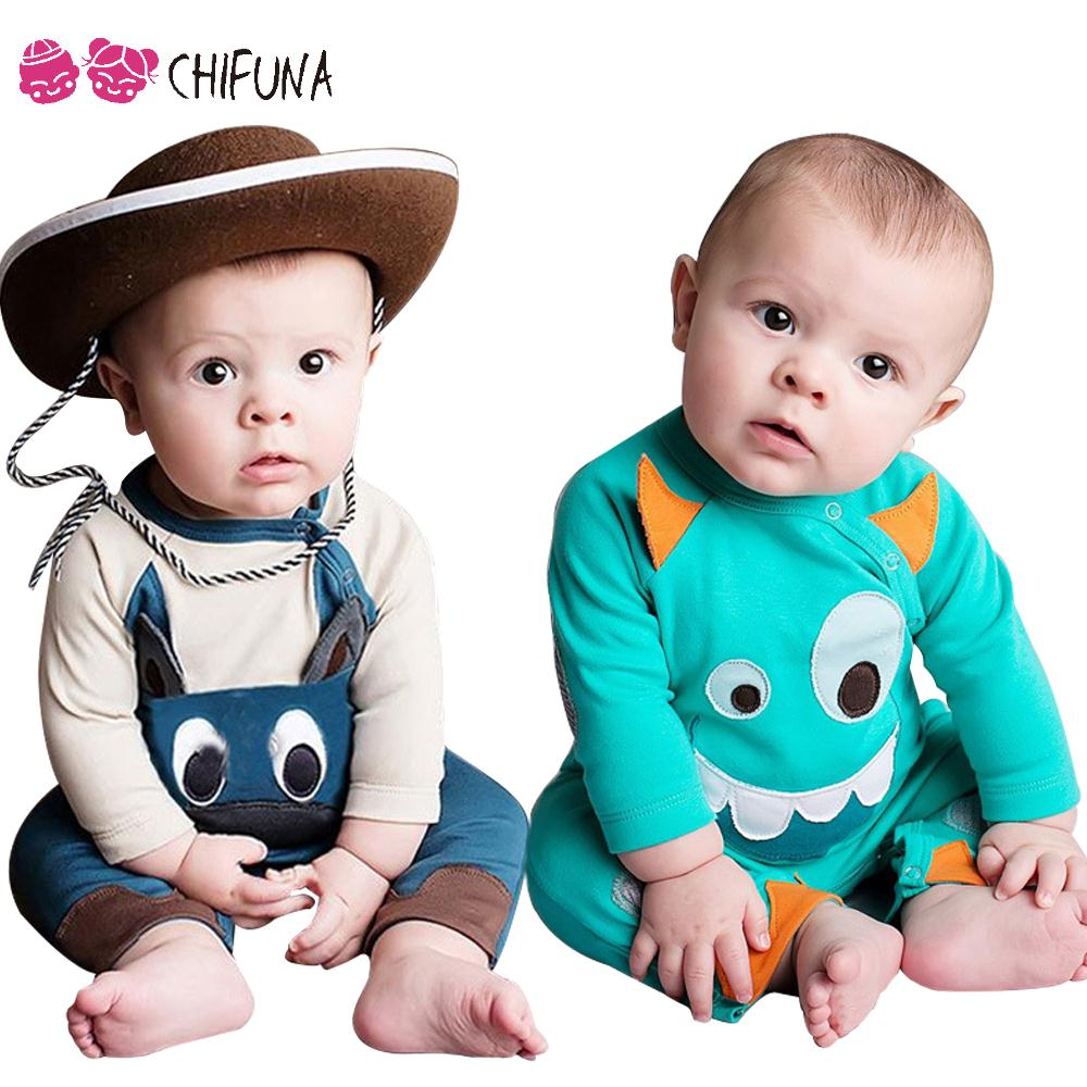 Bobo Choses New 2016 Baby Romper Fashion Kids Toddler Clothing Spring Summer Outwear Cotton Children Baby Boys & Girls Jumpsuit
