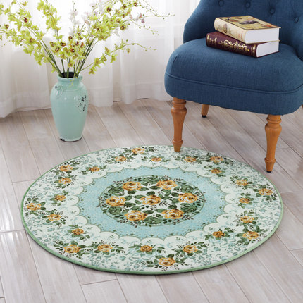 Europe Modern Round Carpet Diameter 80/100/120/150CM Parlor Carpet Living Room Chair Rug Play Mat tapete tapis Home Decorate