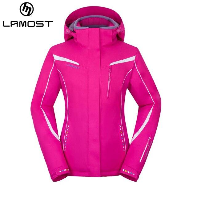 LAMOST jacket ski women waterproof   breathable snow coat winter female  outdoor sportswear warm skiing jacket b4dc89737
