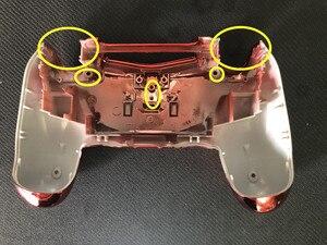Image 4 - Chrome Plating Rood Voor Shell Golden Cover Case Voor PS4 Pro Jdm 040 Jds 040 Playstation 4 Pro V2 gen 2 Controller Vervangen