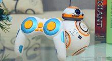 Livraison gratuite Star Wars RC jouet BB-8 Robot Star Wars 2.4G télécommande BB-8 robot/Star Wars BB-8 2.4 GHz R/C