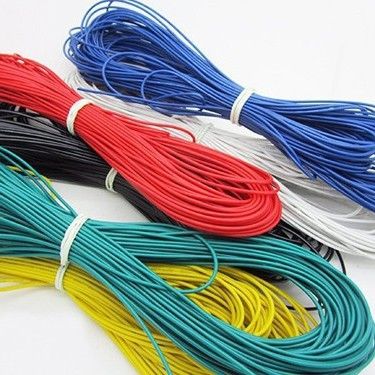 UL 3135 5meter/lot 1meter each color 26 AWG Silicone flexible Wire ...