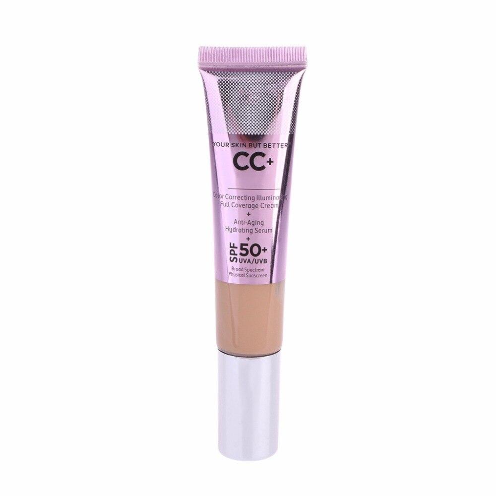 1PC silna izolacja wybielanie skóry nawilżający izolacja korektor przeciwsłoneczny 5
