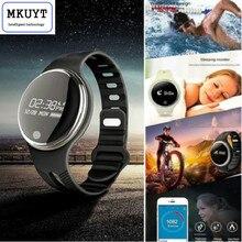 Mkuyt смарт-браслет E07 Водонепроницаемый активность GPS Фитнес трекер Bluetooth синхронизации Браслет для Android Smart часы PK I5