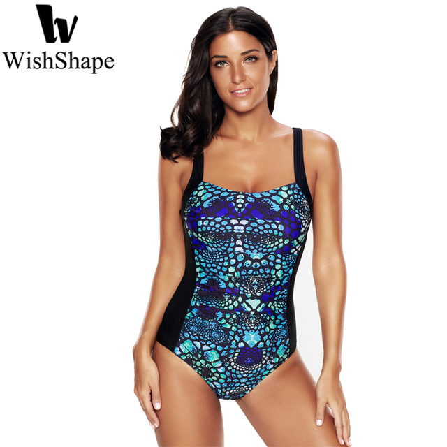69f89ae9269a1 Sexy One Pieces Print Swimsuit Plus Size Swimwear Women Retro Push Up Swimsuits  Slimming Female Beach Bathing Suit Bodysuits