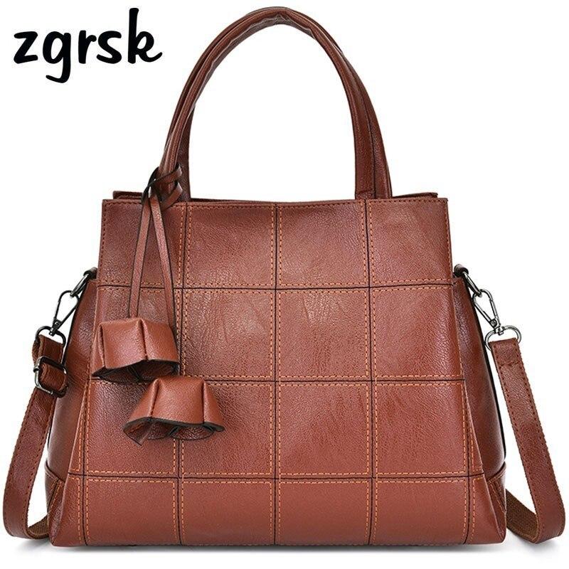 Women Handbag High Quality Leather Ladies Shoulder Bag Brand Fashion Big Tote Pocket Messenger Womens Large Handbags