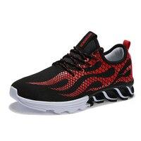 Outono respirável sapatos sapatos masculinos dos homens andar de sapatos casuais tendência sapatos único aluno para o presente