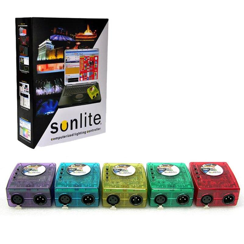 Hot Klassischen Virtuellen Dj DMX Controller Sunlite 1024 USB Universal Serial Bus...