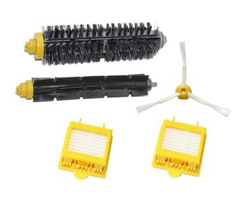 main Brush  +2 HEPA Filter +side brush kit for iRobot Roomba 700 Series 760 770 780 790 replacement  Accessory