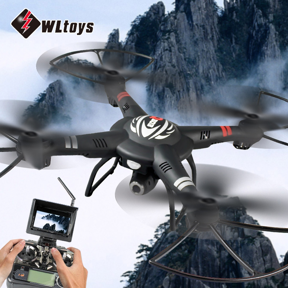 WLtoys RC Quadcopters 5.8G FPV 720P Camera 4CH 6-Axis Gyro RTF Drone Dron Headless Mode 3D Rolling Remote Control Quadcopter Toy snk p0050ap4