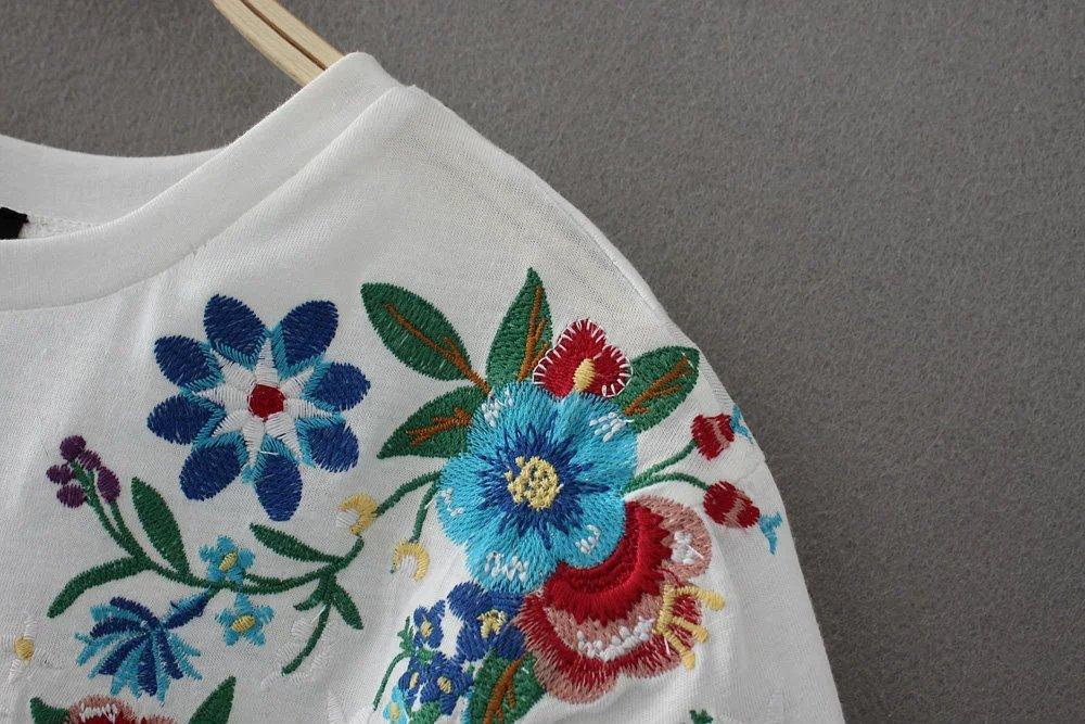 HTB1bFcWQXXXXXXpapXXq6xXFXXXj - Women Cotton Slim Floral Tshirts Casual Street Daily