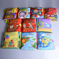 10 styles Baby Cloth Books New Infant Kids Early Development cloth Book Learning Education Animals Soft Baby Rattles Infant Toys