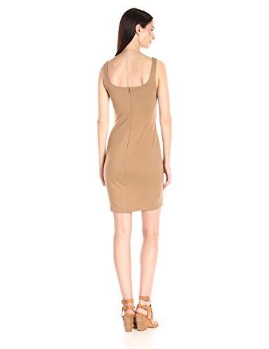 Solid Femminile Mini Serbatoio Faux Suede Donna Senza Dress Abiti Colori Nomad 60 Maglia Maniche Fq4WxS