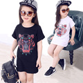 kids new girl clothes t-shirt 3 color baby choses cotton Cartoon girl tops china cheap top children t shirts