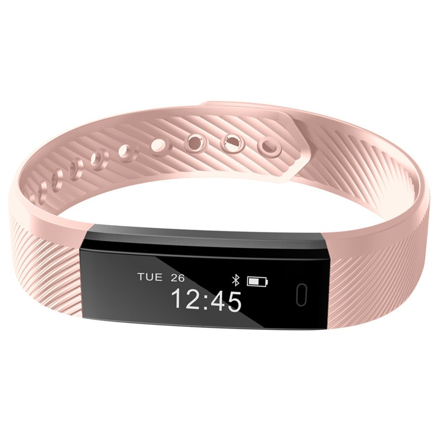 Bluetooth Bracelet Pedometer Fitness Tracker Remote Camera Smart Watch 5