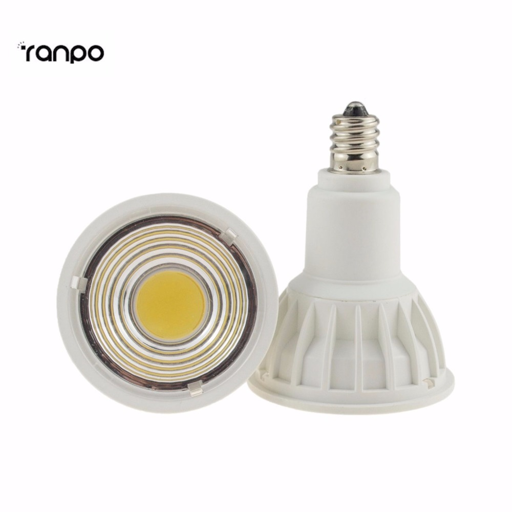 Dimmable E11 LED Spotlight COB 15W Bulb Lamp Light Energy Saving 220V 15 w e27 cool white 15leds 1w highpower led energy saving cfl bulb lamp spotlight 220v 240v