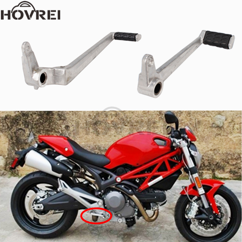 795 B Blesiya Motorcycle Motorbike Gear Shift Lever Rubber Tip Pad for Ducati 696 1100 796