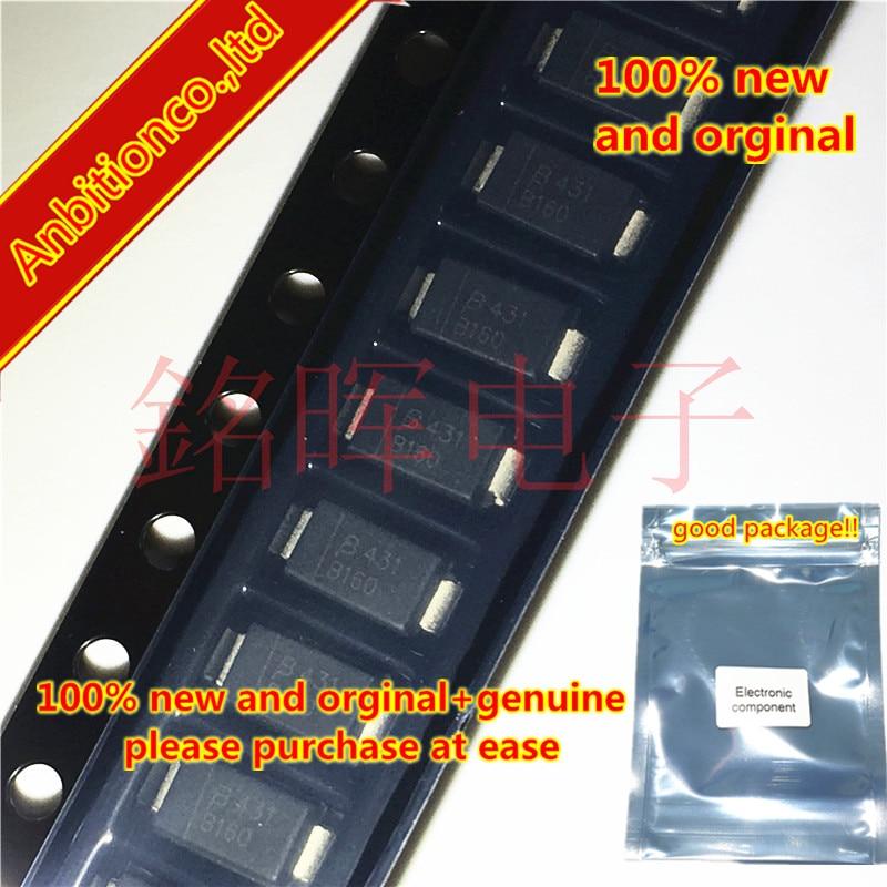 20pcs 100% New And Orginal SMA CD214A-B160LF Silk-screen B160 DO214AC In Stock
