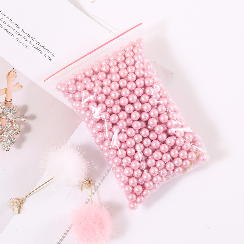 8mm wild storage box jewelry no hole imitation pearl makeup filler ornament