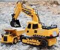 Лучшие детские игрушки большой RC автомобилей дистанционного управления инженерной грузовик экскаватор беспроводной rc экскаватор игрушечный автомобиль экскаватор мальчик игрушки
