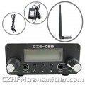 FMUSER CZH-05B 0.5 w quente kit de Transmissão de rádio transmissor Fm PLL 76-108 Mhz