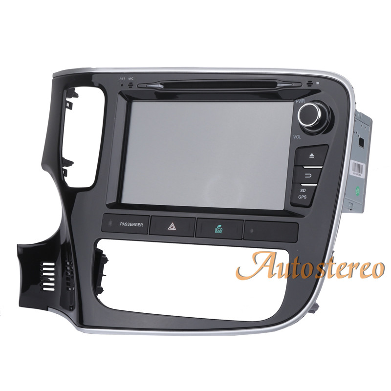 Discount Android 9 Car GPS navigation Car DVD player For Mitsubishi OUTLANDER 2014 2015 2016 2017 multimedia radio tape recorder headunit 10