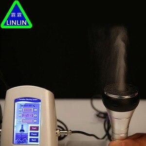 Image 2 - LINLIN 40 K ไขมันเครื่องตรวจจับ RF multipole วิทยุความถี่ Ultrasound ระเบิดไขมันน้ำหนักแพ้เครื่องสำอางอุปกรณ์