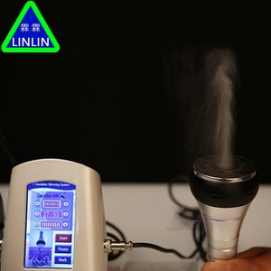 Image 2 - LINLIN 40K fat detector  RF multipole radio frequency  Ultrasound Fat Explosion Weight Loser  Facial Cosmetic Apparatus