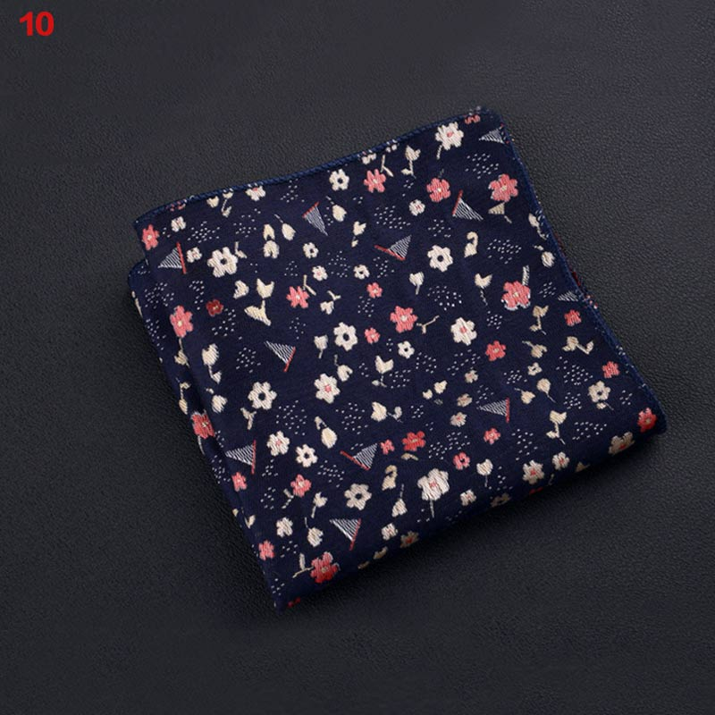 New Polyester Square Towel Trendy Wedding Banquet Handkerchief Gentleman Suit Pocket Hanky VN 68