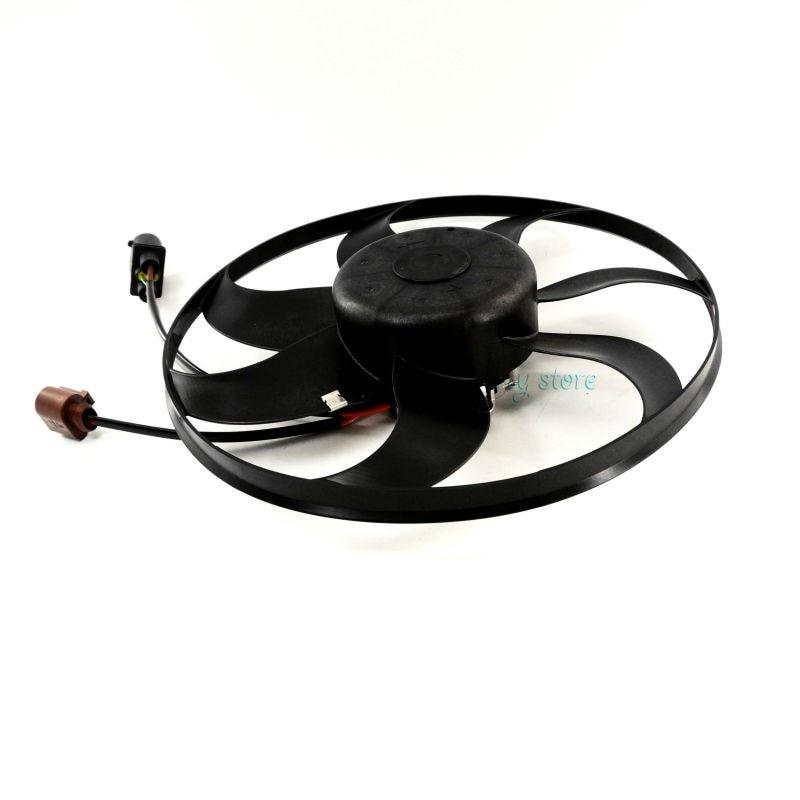 NEW 3C0 959 455 F Cooling Systems Radiator Fan Auxiliary Radiator Cooling Motor Fan For VW Golf Jetta Rabbit Passat AUDI TT A3 цена
