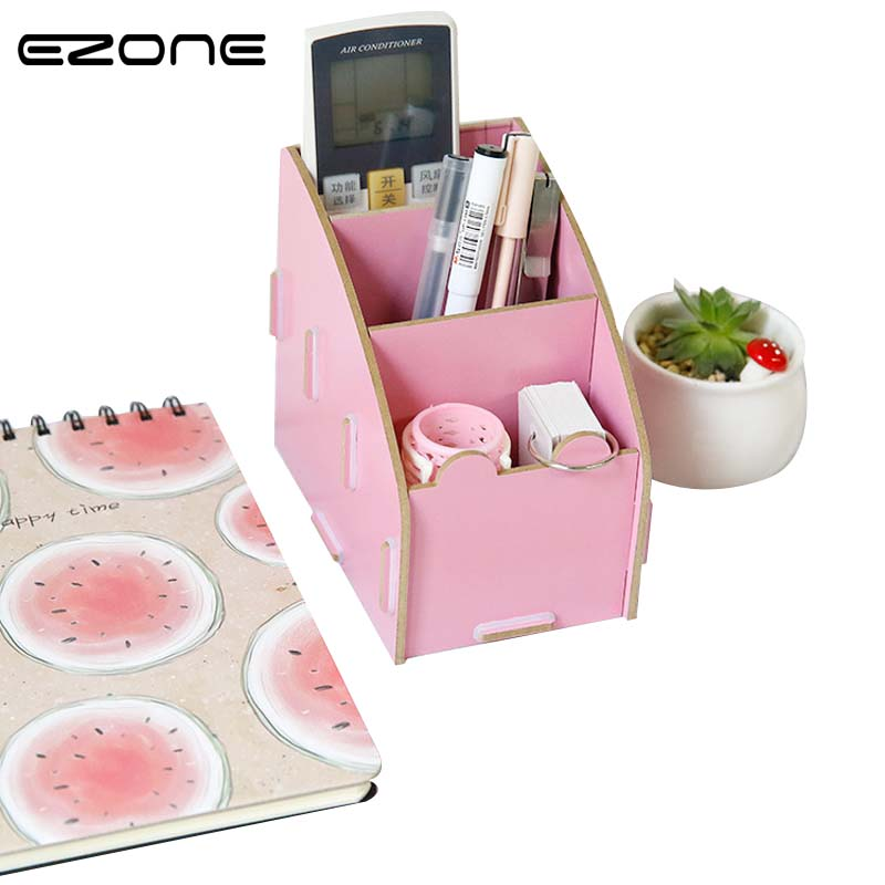 EZONE DIY Multipurpose Table Sundries Storage Box  Remote Control Stationery Sundries Organized Home Decoration Pen Container spark storage bag portable carrying case storage box for spark drone accessories can put remote control battery and other parts
