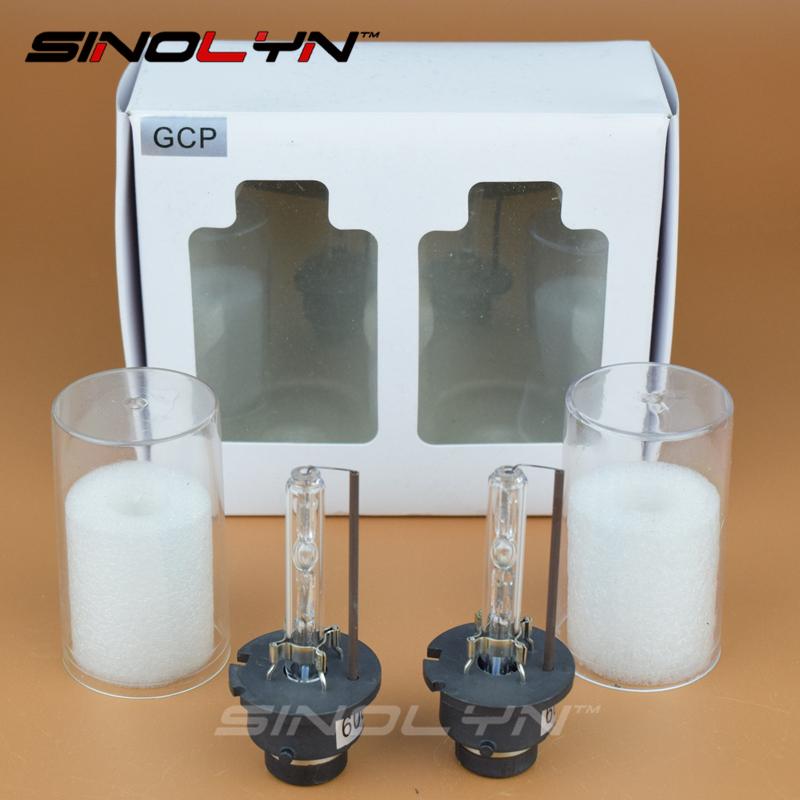Prix pour Voiture Lumières Extérieures Haute Qualité Premium 35 W AC D2S D2C Lampes Au Xénon HID Ampoules Phare 4300 K 6000 K 8000 K
