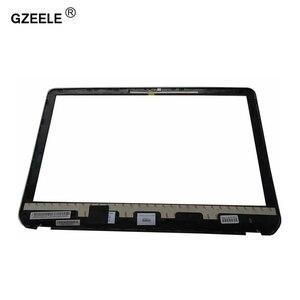 Image 2 - GZEELE nowy Panel przedni LCD ramka ekranu wyświetlacz Bezel Case dla HP Envy M6 M6 1000 M6 1035dx 728833 001 AP0YS000300 czarna okładka