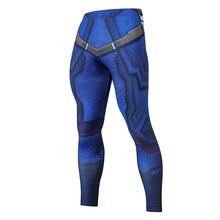 дешево!  2019 компрессионные брюки беговые колготки мужские тренировочные брюки фитнес уличная одежда леггинс