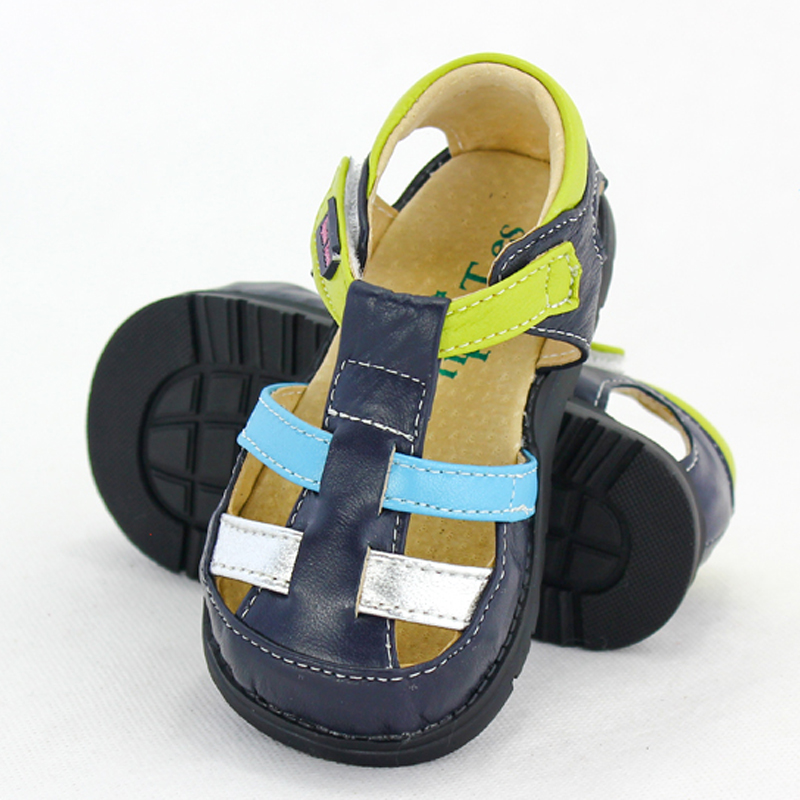Guniue Leather Baby Sports Sandals Shoes Baby Boys Girls First Walkers Shoes Infant Toddler Soft Sole Anti-slip Baby Shoes | Happy Baby Mama