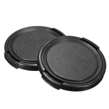 Univeral 10pcs 49mm Center Pinch Front Lens Cap For Canon Ni