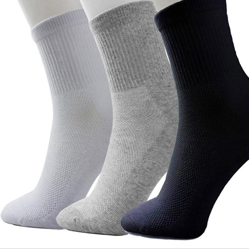 WTEMPO Brand 3 Pairs/Lot Cotton   Socks   Solid/White/Grey/Black   Socks   Fashion Female Casual Breathable   Sock   for Women Hot Soft Sox