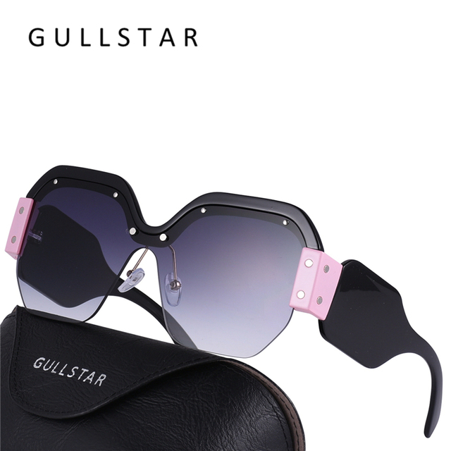 bdc1ea1d81074 GULLSTAR 2018 Mulheres Da Moda Quadrados Óculos De Sol de Marca Designer de  Óculos de Sol