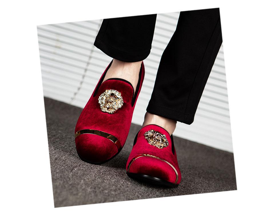HTB1bFh6XZnrK1RjSspkq6yuvXXao MEIJIANA New Big Size Men's Loafers Slip on Men Leather Shoes Luxury Casual Fashion Trend Brand Men's Shoes Wedding Shoes