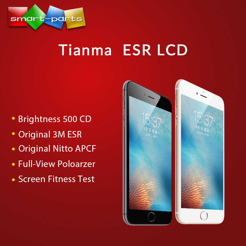 20PCS Premium TIANMA ESR จอแสดงผล LCD สำหรับ iPhone 6 6S 7 8 Plus LCD Touch Screen Digitizer Assembly ฟรี DHL