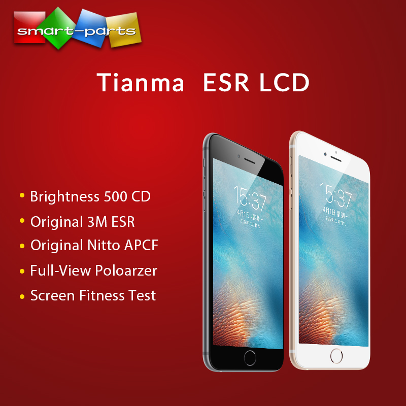 20PCS Premium TIANMA ESR LCD Display For iPhone 6 6S 7 8 Plus LCD Touch Screen Digitizer Assembly Free DHL(China)