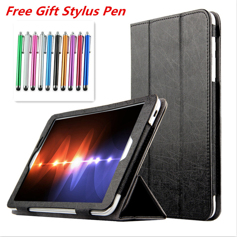 יוקרה סלים Tablet כיסוי מקרה עבור HuaWei MediaPad T1 8.0 אינץ S8-701U S8-701W T1-821W T1-823L Tablet Funda מקרה כיסוי Capa + עט