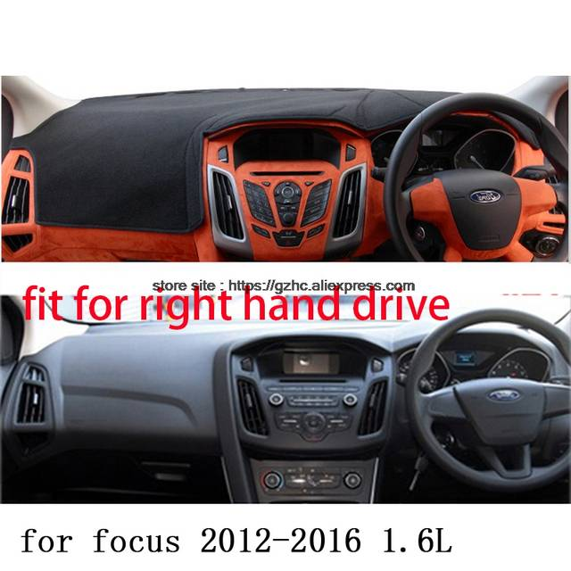 Us 15 6 22 Off Stplrgecp For Ford Focus Focus St Double Layer Car Dashboard Cover Avoid Light Pad Instrument Platform Dash Board Cover Sticker In