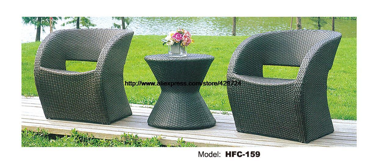 Confortável S Rattan 2 Cadeiras Conjunto De Mesa Ao Ar Livre Do Rattan Mesa  De Bar Cadeira Clássico Conjunto Jardim Do Rattan Lazer Móveis De Vime Set